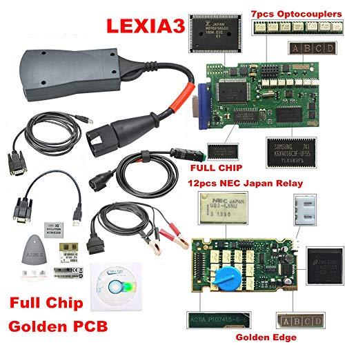 Preisvergleich Produktbild Hadeyicar 3 chip 921815C firmware V7.83 Diagbox PP2000 Leccia 3 Citroen / Peugeot 12 NEC-Relais 7 Optokoppler Pro PSA-Werkzeug