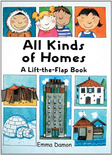All Kinds of Homes: a Lift-the-Flap Book (All Kinds of... S.) por Thando Maclaren