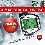 Abenteuertauchen Mares Quad Air *Weiss* - Limited Edition Tauchcomputer luftintegriert