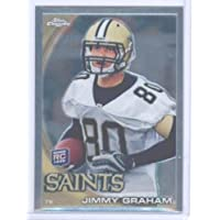 2010 Topps Chrome Football Rookie Card #C67 Jimmy Graham New Orleans Saints