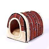 ZHANGZHIYUA Pet Cave/Zeltbett für Hunde und Katzen,A,XXL
