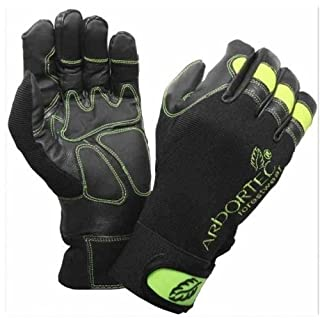 ARBORTEC AT900 XPERT CHAINSAW GLOVES LEFT HAND PROTECTION (9)