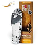 CURREX HikePro Sohle Med Profile. Deine neue Dimension des Wanderns. Performance Einlegesohle für Walking, Hiking oder Spaziergänge. Gr EU 44,5-46,5