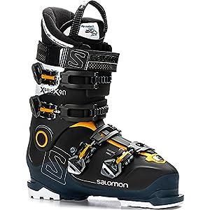 SALOMON Herren Ski-Stiefel X Pro X90 CS Skistiefel, Schwarz/Blau/Weiss, 30.5