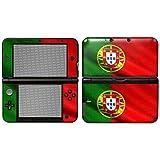 """Nintendo 3DS XL Designfolie """"Portugal Flagge"""" Skin Aufkleber für 3DS XL"""