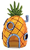kelaina 1pc Creative casa tanque de peces adorno de acuario en forma de piña (13* 7cm)