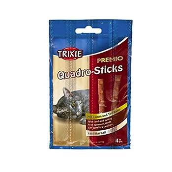 Trixie Premio Stick Quintett Friandise Saumon/Truite pour Chat 5 × 5 g