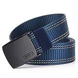 MUMUGO Cinturón táctico militar Hombres Hebilla metálica Espesar Cinturones de lona de nylon para hombres