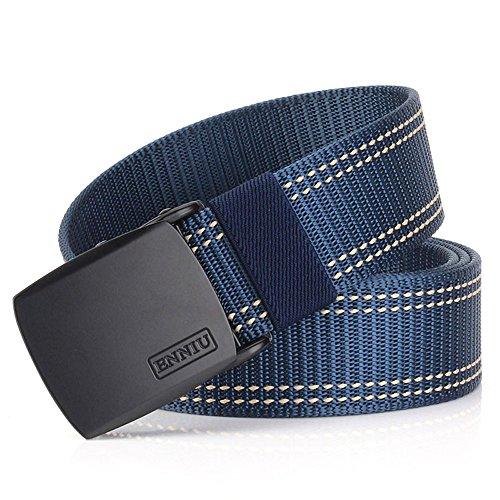 MUMUGO Military Equipment Tactical Belt Men Metal Buckle Thicken Nylon Canvas Belts for Men