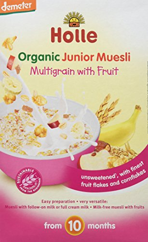 Holle Papilla Muesli Multicereales Fruta +10 meses