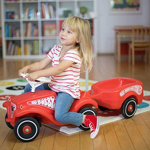 Imagen principal de BIG Bobby-Car 1300 - Remolque para coche Bobby-Car, color rojo [importado de Alemania]
