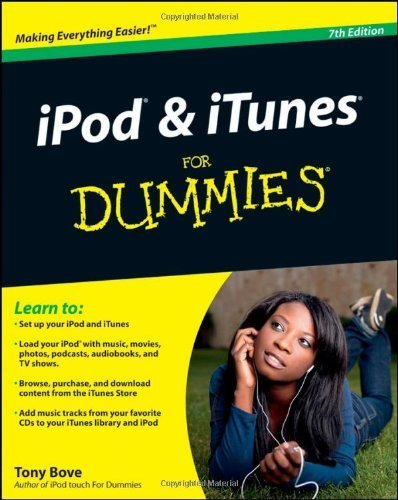 iPod & iTunes For Dummies, Book + DVD Bundle 7th edition by Bove, Tony (2010) Taschenbuch Ipod Bundle