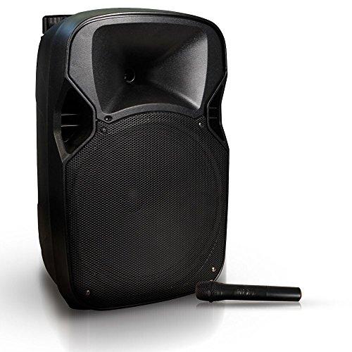 Hollywood 400 Watt Live Party Musik Beschallungsanlage Bluetooth SD USB Funkmikrofon MB-12 -
