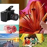 Elikliv Portable Digital Camera Camcorder Full HD 1080P Video Camera 16X Zoom AV Interface 16 Megapixel CMOS Sensor