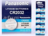 10x Panasonic Lithium Knopfzelle 3V CR2032 / KCR2032 / DL2032/