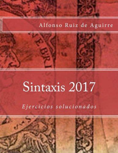 Sintaxis: ejercicios solucionados 2017