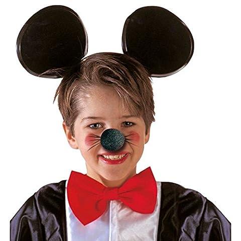 Nez de souris nez d'animal noir mousse nez souris animal nez nez de déguisement nez de souris costume