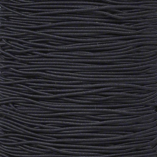 Paracord Planet 1/16 & 1/32 Inch Diameter Elastic Cord in a Variety of Colors - Lengths of 10, 25, 50, 100, 250, and 1000 Feet