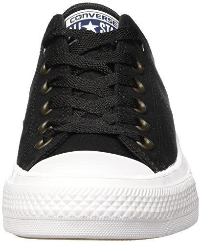 Converse 150149c, Sneaker a Collo Basso Uomo Nero (Black/White/Navy)
