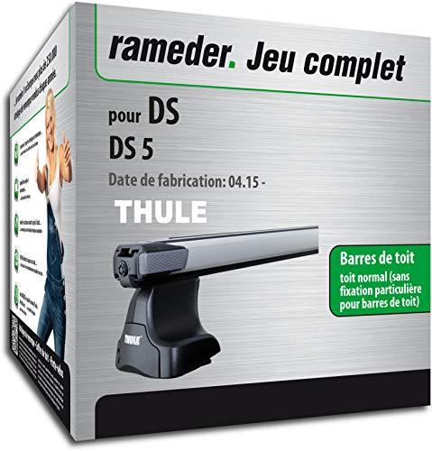 Rameder Pack Barres de Toit SlideBar pour DS DS 5 (115077-14959-2-FR)