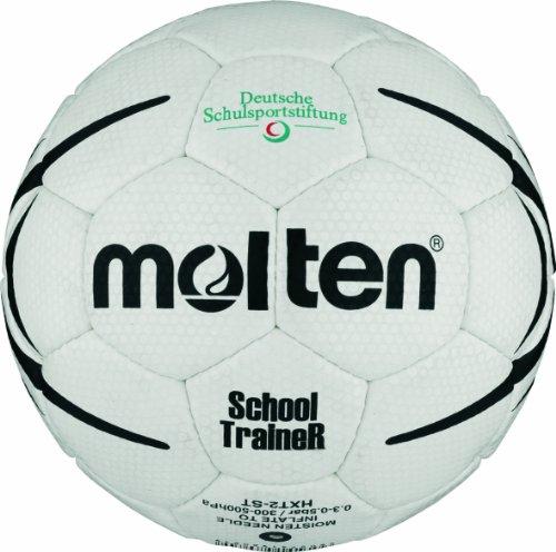 Molten Handball HXST1, WEISS/SCHWARZ, 1