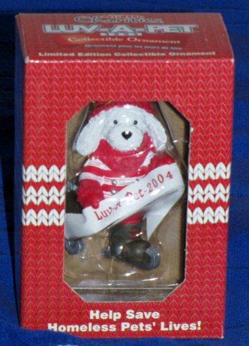 coleccionable-de-luv-a-pet-2004-cachorro-patinaje-figura-decorativa