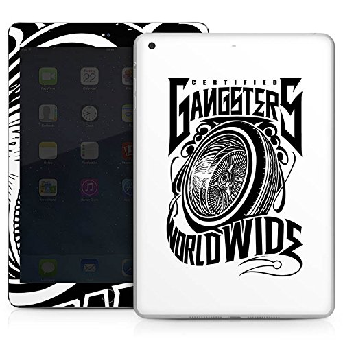 Apple IPad Air Case Skin Sticker aus Vinyl-Folie Aufkleber Joker - Gangsters Reifen Felgen