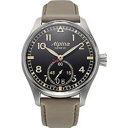 Alpina Geneve Startimer Pilot AL-280BGR4S6 Reloj de Pulsera para hombres Legibilidad Excelente