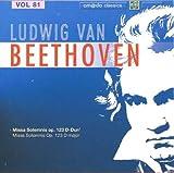 Beethoven Complete Works [Disc 80] Beethoven: Missa Solemnis Op. 123 In D-Dur, Op. 123 D-Major by Michael Gielen (2007-08-03)