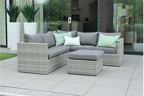 Au jardin de chloé - Salon canapé de jardin modulable avec table ...