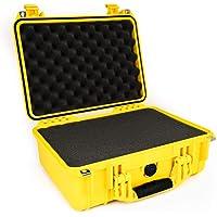 PELI 1450 Bruchfestes Peli Case für Wertvolle Ausrüstung, IP67 Wasser- und Staubdicht, 15L Volumen, Hergestellt in…
