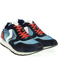 Voile Blanche hombre bajas zapatillas de deporte azul LIAM DE POTENCIA