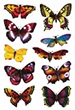 Schmucketikett Decor Schmetterlinge 2Bl 1Pack