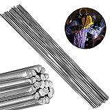AFexm Barre di Saldatura in Alluminio, Filo Animato Universale per Saldatura a Bassa Temperatura in Alluminio per energia elettrica, Chimica,5pcs,2.4MM