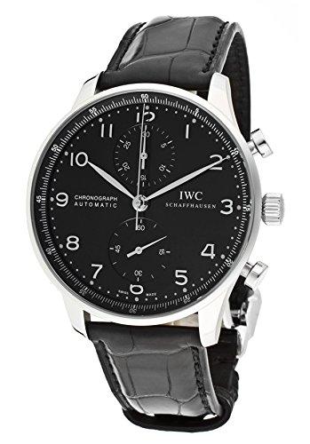 iwc-chronograph-portugiesisch-automatisch-leder-uhr-schwarz-schwarz-herren-zifferblatt