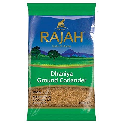 Rajah - Cilantro en polvo - Dhana - 100 g
