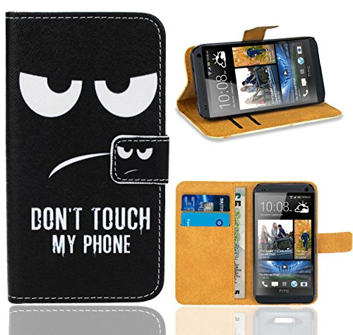 htc-one-m7-handy-tasche-foneexpert-wallet-case-flip-cover-hullen-etui-ledertasche-lederhulle-premium