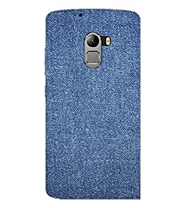 PrintDhaba Denim D-2411 Back Case Cover for LENOVO K4 NOTE A7010a48 (Multi-Coloured)