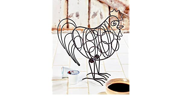 The Lakeside Collection Rooster Coffee Pod Holder