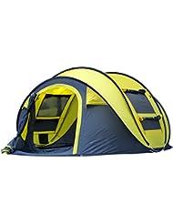 Toldos Automáticos Al Aire Libre Para Camping Tiendas De Apertura Rápida Impermeables 4 Personas Canopy Con Bolsa De Transporte Fácil De Configurar Por Qisan