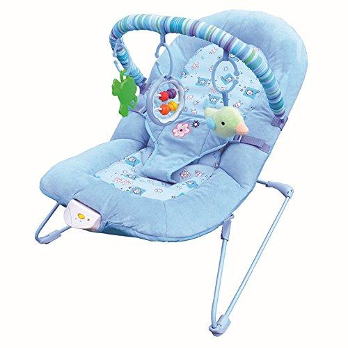 NWYJR Baby Wippe Neugeborenen Vibration bequem Zeit elektrische Multifunktions faltbare automatische Swing Bouncer (Bouncer Faltbar)