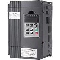 Controlador de Velocidad VFD con Variador de Frecuencia Inversor de Giro Trifásico 2.2KW 3HP 220V 12A
