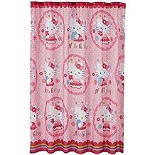 Sanrio Hello Kitty cortina de ducha de tela con