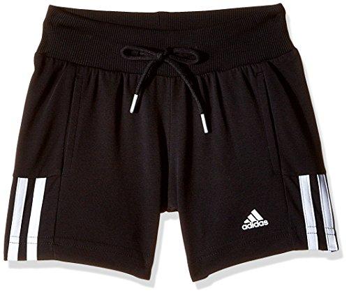 adidas Shorts Essentials Mid 3-Streifen, schwarz/weiß, 128, S20883