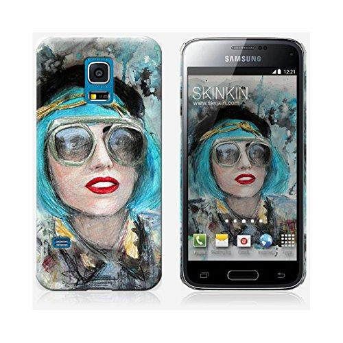 Coque iPhone 6 Plus et 6S Plus de chez Skinkin - Design original : Lady gaga glasses par Denise Esposito Coque Samsung Galaxy S5 mini