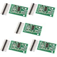 Gaoxing Tech. 5PCS Hx711 Gewicht wiegende Last Zellen Umwandlungs Modul Sensor Anzeigen Modul für Arduino Mikrocontroller