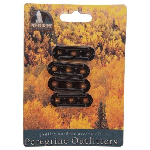 Peregrine Outfitters Tent Line Tightners (Pack Of 4) by Liberty Mountain Sports LLC (Zubehör Liberty Mountain)