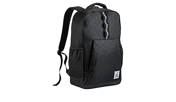 discount sale 9281c de773 Nike Air Jordan Jumpman VII Quilted Reflective Backpack Laptop Sleeve Black Wolf  Grey  Amazon.co.uk  Clothing