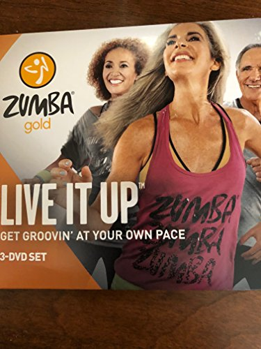 Zumba Fitness Zumba Gold Live it Up 2 DVD Set (Amaray) 2014 - PCH