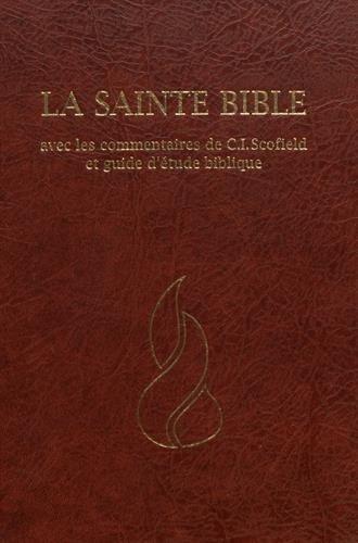 Bible NEG Scofield : rigide grenat